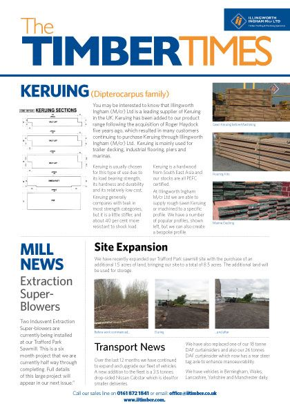 Keruing is usually chosen for this type of use due to its load bearing strength, its hardness and durability and it's relatively low cost. Keruing is mainly used for trailer decking, industrial flooring, piers and marinas.  #Keruing #hardwood #softwood #timber #merchants #manchester #decking #flooring #mouldings