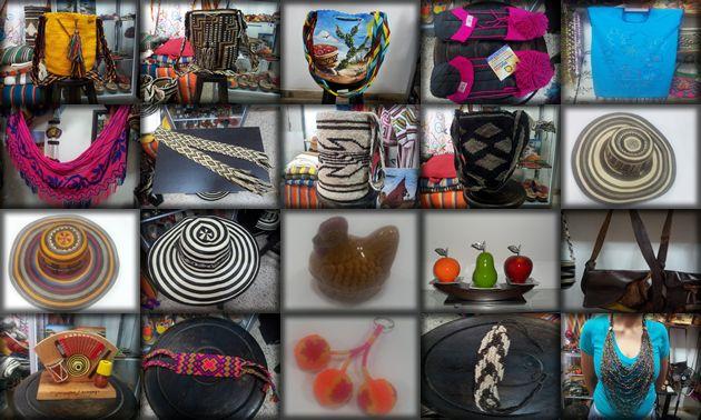 mochilas wayuu, mantas, chinchorros demas artesanias