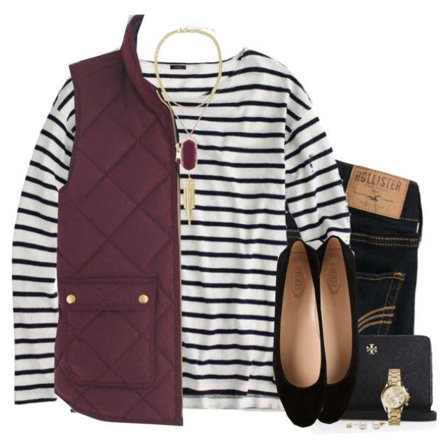 Maroon & stripes