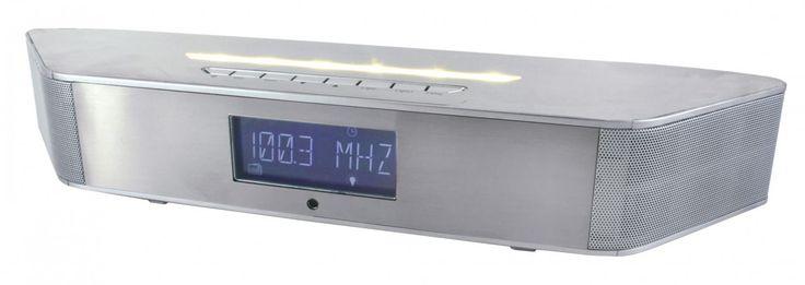Soundmaster Highline Soundmaster Highline UKW-PLL Radiowecker mit Bluetooth und LED Licht zur Wandmo Jetzt bestellen unter: https://moebel.ladendirekt.de/dekoration/uhren/wecker/?uid=e1c05b1c-1068-52af-ad41-1979864c778f&utm_source=pinterest&utm_medium=pin&utm_campaign=boards #multimedia #uhren #technik #audio #wecker #dekoration