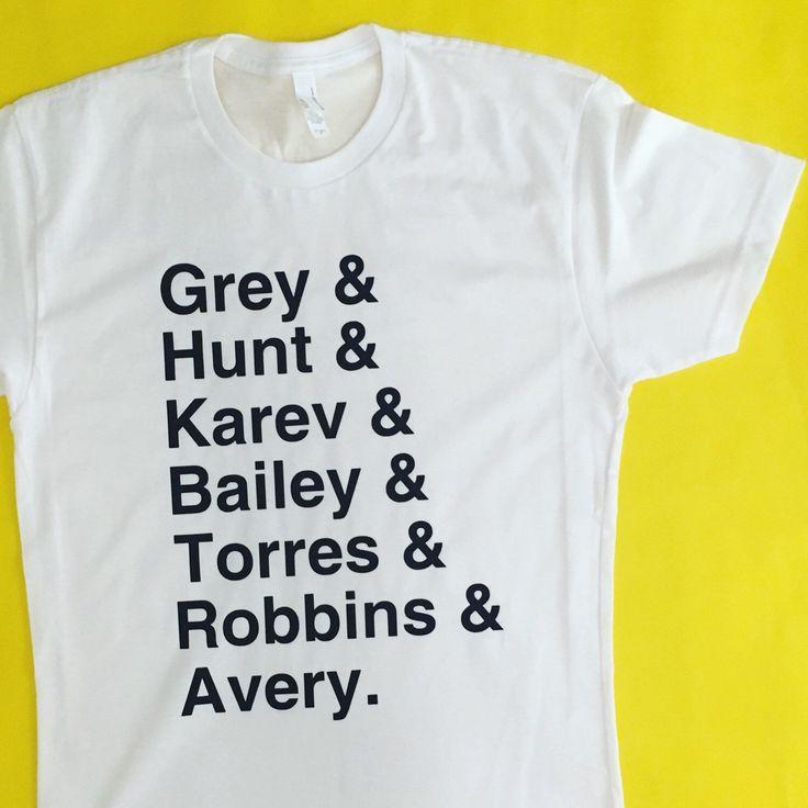 Team Greys (version 2). Get the top: www.totallygoodtime.com #greys #greysanatomy