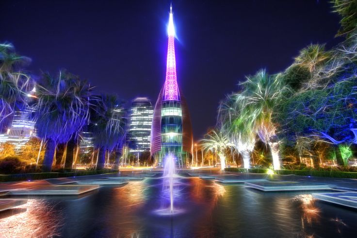 The Bell Tower, Perth City , Western Australia