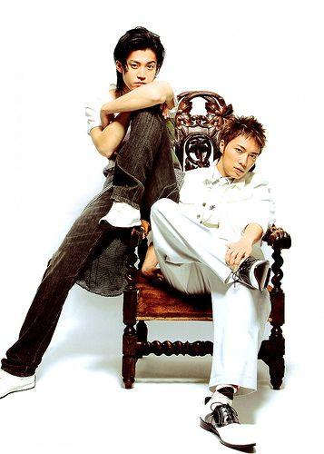Shun Oguri and Hiroki Narimiya