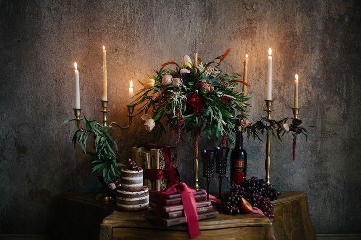 Opulent Candlelit Wedding Decor