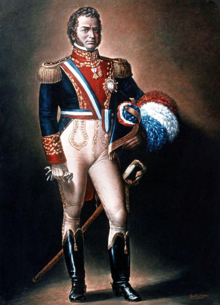 Bernardo O' Higgins Riquelme, uno de los padres de la patria.Considerado uno de los Libertadores de América, fue capitán general del Ejército de Chile, brigadier de las Provincias Unidas del Río de la Plata, general de la Gran Colombia y uno de los principales organizadores de la Expedición Libertadora del Perú.