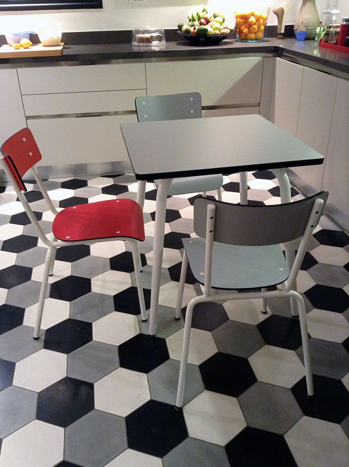 Our Suzie chairs and Vera table by Les Gambettes featured in a new home in Athens