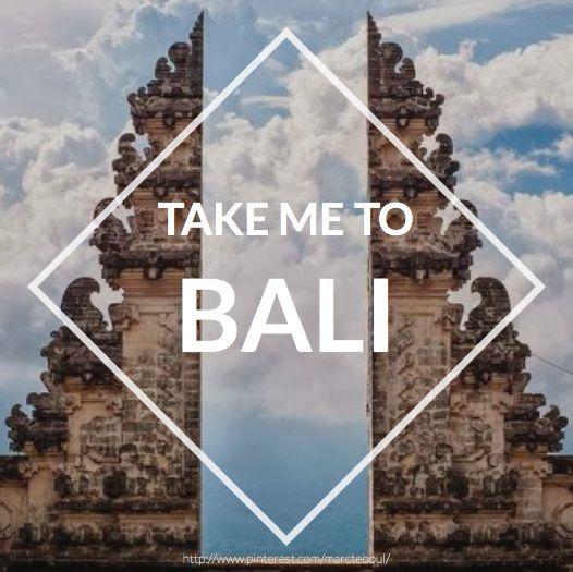 TAKE ME TO BALI , 2 keer geweest, prachtig