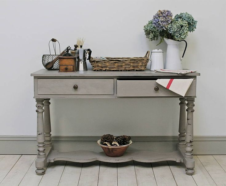 distressed victorian console table by distressed but not forsaken | notonthehighstreet.com