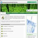 Enviromental Services website done by Nuleaf Designs