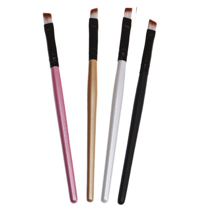 Newly Design 1pc Eyebrow Pencil Brush Eyelashes Eyes Cosmetic Makeup Brushes Tools Aug12 Professional Makeup Brush Set