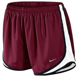 "Academy - Nike Women's Tempo 3.5"" Running Short I like the maroon shown, but any color is good!"