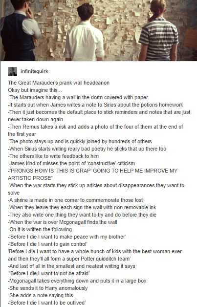 the marauders prank wall