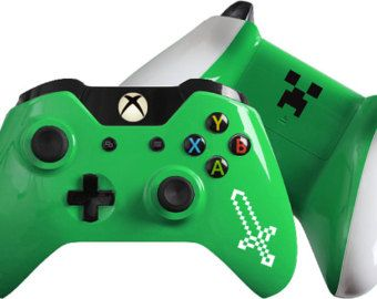 Minecraft inspired Custom Xbox One Controller