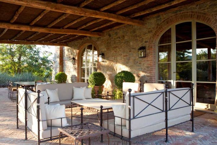 luxury villa porch and - photo #10