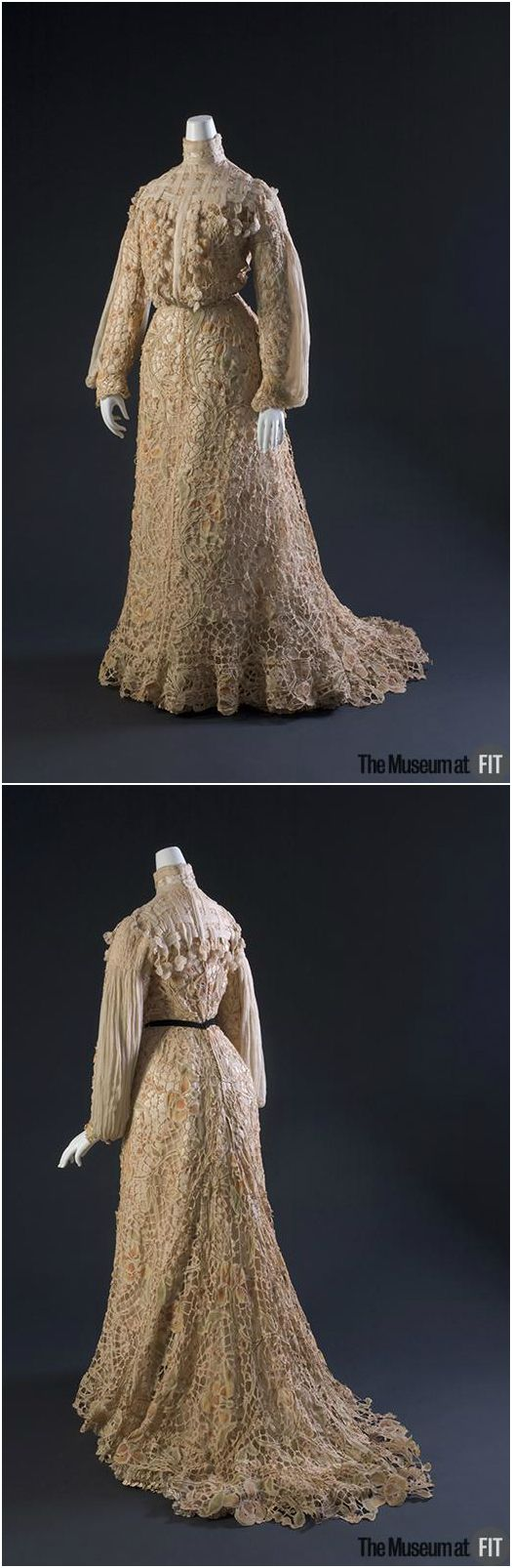 Dress, 1904, The Museum at FIT. See: http://fashionmuseum.fitnyc.edu/view/objects/asitem/760/19/dynasty-desc?t:state:flow=ca2d6c08-59e3-4678-bdc1-a0a1205d1025