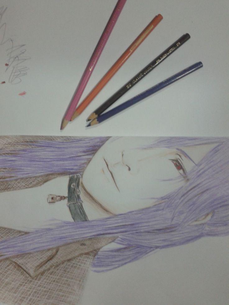 #drawing #gakupo #kamuigakupo #vocaloid  #v3 #fanart #art #colouredpencil #pencil by 7oi