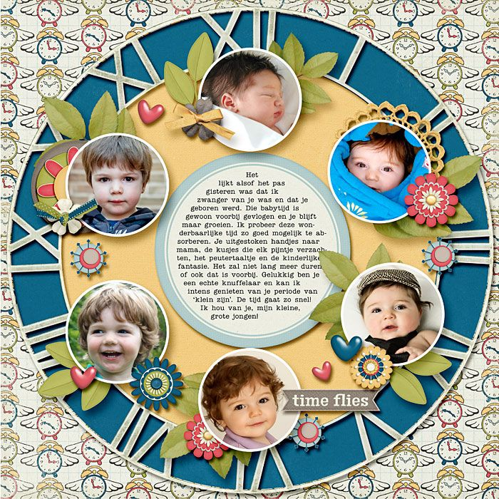 Get clock and put faces of kids that are that old good ides for grandma or Grampa