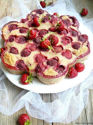 Jahodovo burákový koláč