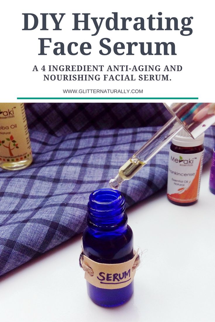Hydrating Homemade Face Serum for Winters