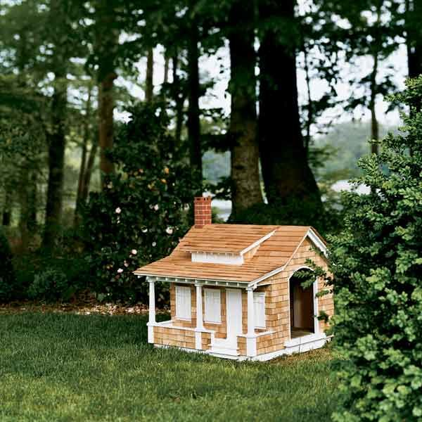 Photo: Alison Rosa | thisoldhouse.com | from 16 Doghouses Like Your House