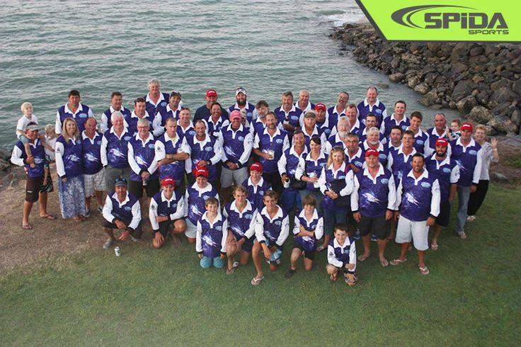 Whitsunday Game Fishing Club Shirts Front - http://spidasports.com.au/sublimated-fishing-shirts/