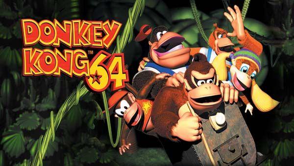 Donkey Kong 64 N64 ROM (USA/EUR) - https://www.ziperto.com/donkey-kong-64-n64-rom/