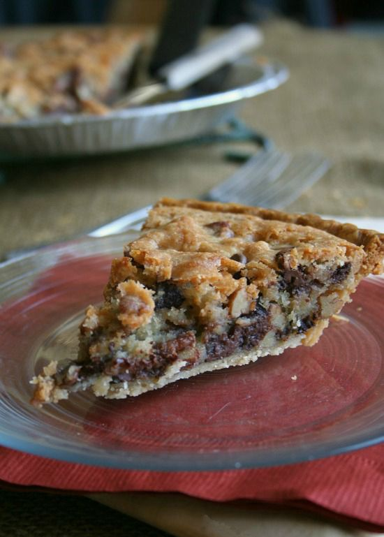 Flaky Chocolate Chip Kentucky Derby Pie | My Cooking Spot - When Girl Meets Kitchen