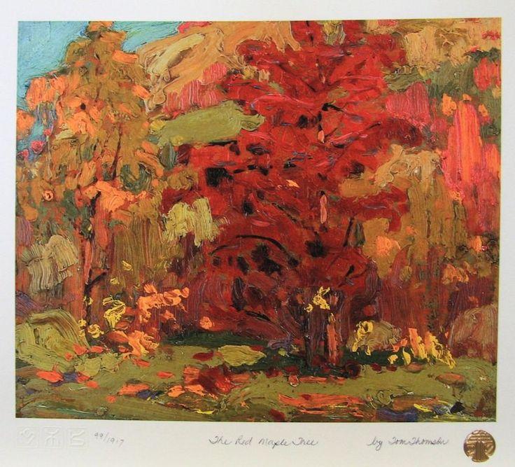 Tom Thomson Red Maple Tree