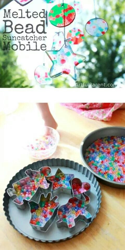 http://artfulparent.com/2012/07/melted-bead-suncatcher-diy-baby-mobile.html
