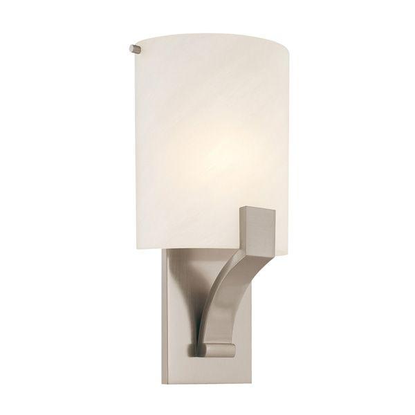 Sonneman Greco 1 Light 8 Inch Satin Nickel ADA Sconce Wall In