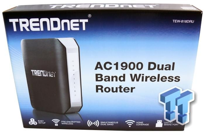 TRENDnet TEW-818DRU AC1900 802.11ac Wireless Router Review