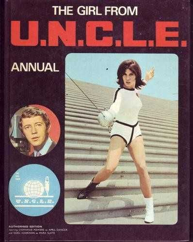 The Girl From UNCLE Annual, 1970 (Noel Harrison and Stefanie Powers)