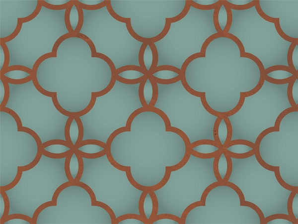 Stencil pattern...
