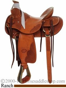 "15"" 15.5"" 16"" 17"" Billy Cook Wade Tree Saddle #10-2181-SR"
