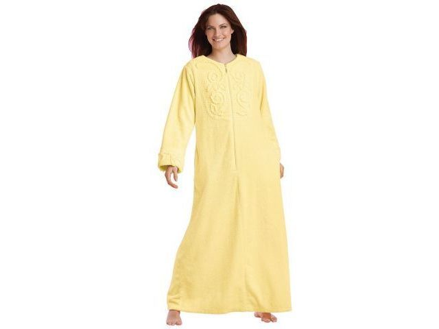 chenille robes | Long Chenille Robe By Only Necessities - Reviews & Prices @ Yahoo ...