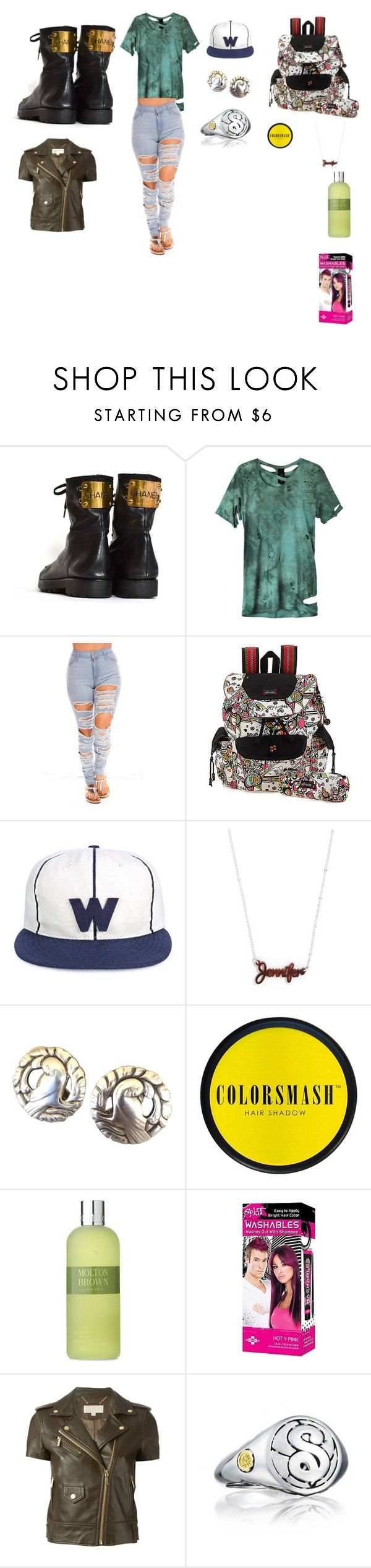 Para pasar el rato by gustavo-adolfo-coto on Polyvore featuring moda, Obesity and Speed, MICHAEL Michael Kors, Sakroots, Tacori, BaubleBar, Whistles, COLORSMASH and Molton Brown