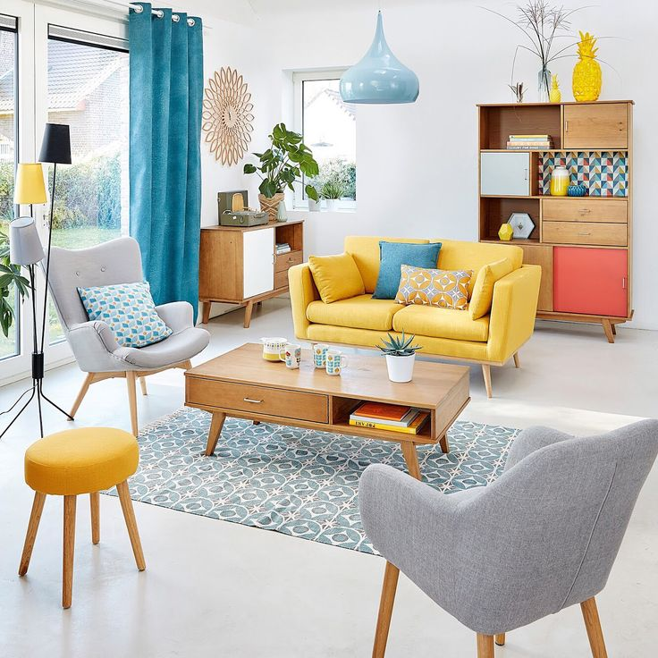 "164 Likes, 4 Comments - Maisons du Monde UK (@maisonsdumondeuk) on Instagram: ""Ready. Set. Retro. Pops of positivity from a Scandi-inspired throwback #myMdm"""