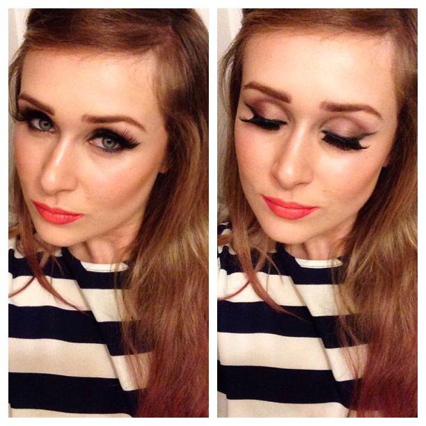 Makeup & hair inspired by Karmin!!!!