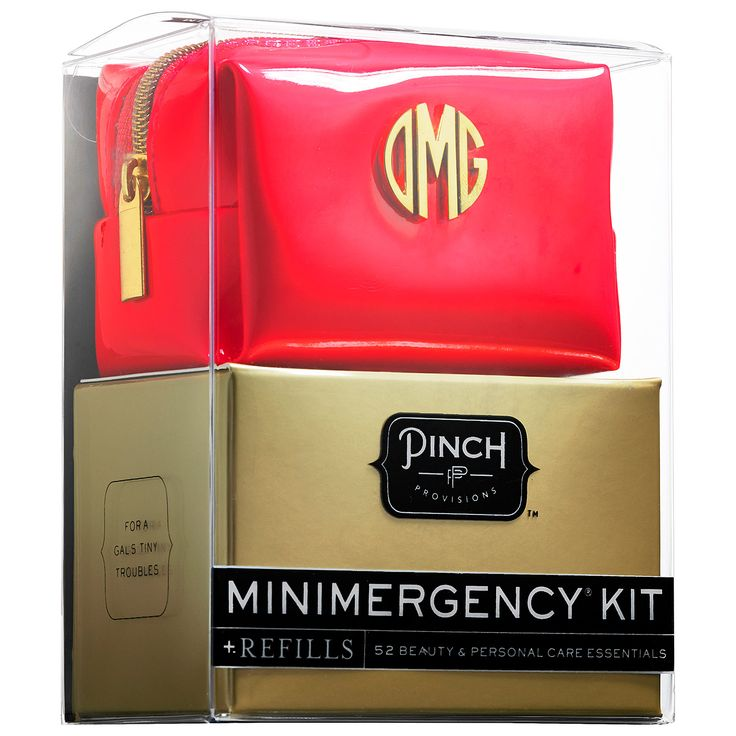 Minimergency® Kit For Her - Monogram + Refills - Pinch Provisions | Sephora