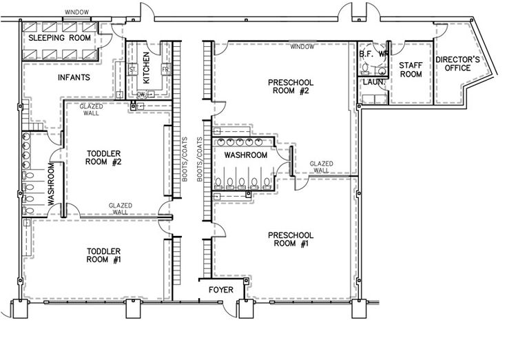 1000 images about preschool daycare floor plans on for Small daycare floor plans