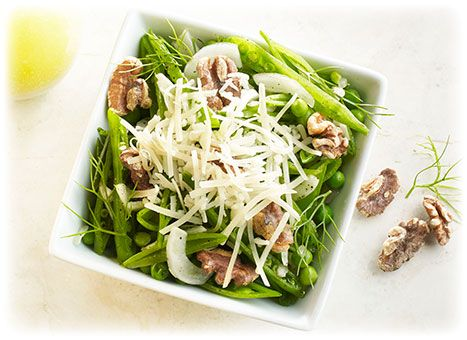 four cheeses sugar snap pea and fennel salad top this tangy savory and - Ina Garten Fennel Salad