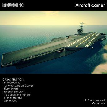 FELGO inc. // Aircarft carrier