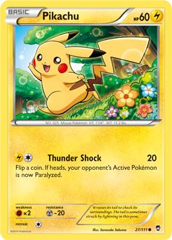 This card is out of the pokemon xy furious fists trading card game. Description from pokeorder.com. I searched for this on bing.com/images