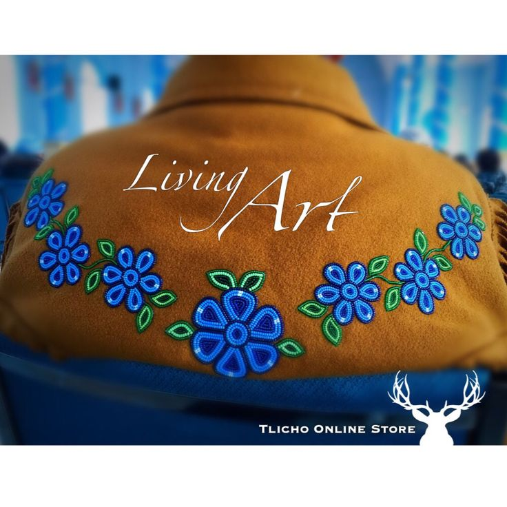 #Living #art of the #Tlicho. #Behchoko #beadwork.