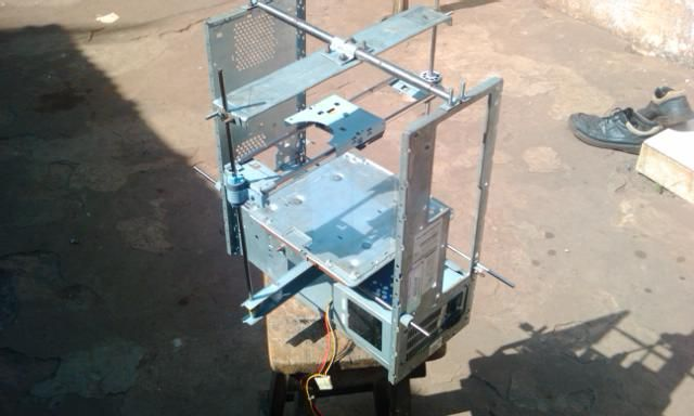DIY 3D Printing: W.afate african 3d printer out of electronic waste development project