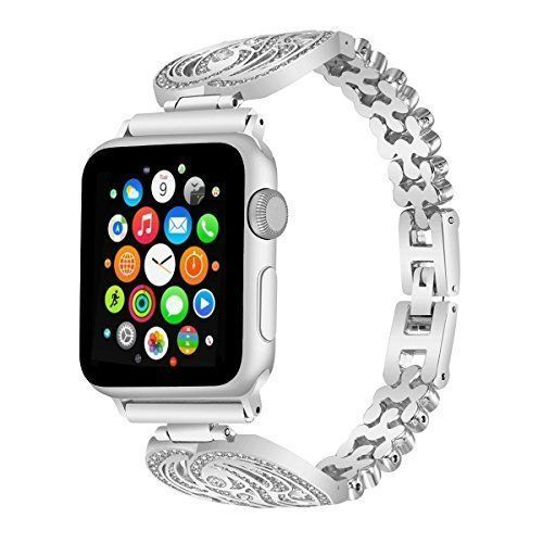 For Apple Watch Band 38mm Stainless Steel Replacement Strap iWatch Series2 1 NEW #WatchBand