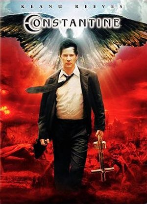 Constantine, the wood like character is perfect for Keanu Reeves. Amazing detailed scenes, I quite like the premise of Constantine knowing he is going to hell because he had tried to kill himself years earlier. Now he fights demons trying to break through into our world.