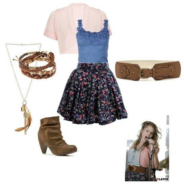 Bridget mendler inspired outfit