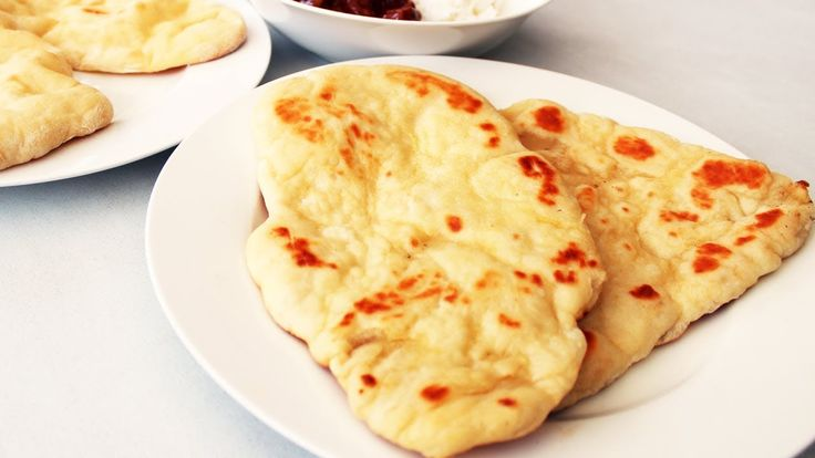 Home Made Naan Bread the Easy Way Video Tutorial