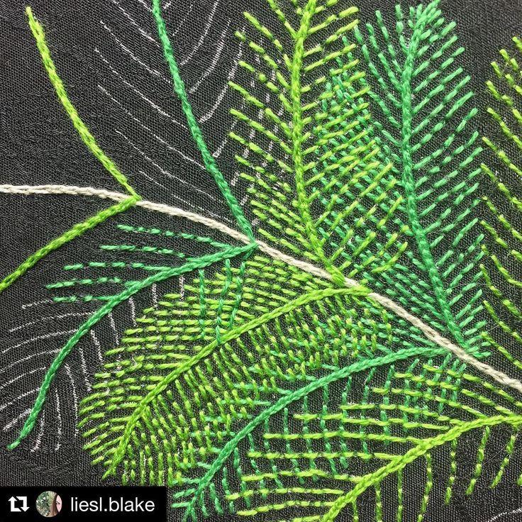 @liesl.blake #needlework #handembroidery #broderie #ricamo #bordado #embroidery